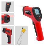 Digitális infrared hőmérő mérőszondával