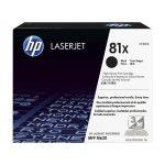 HP CF281X (81X) fekete nagykapcítású toner
