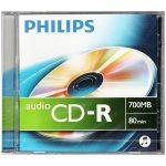 Philips CD-R80 Audio írható CD