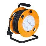 Home HJR 10-30 IP44, 3x1,5 mm2 kábeldob 30m-es gumírozott kábellel