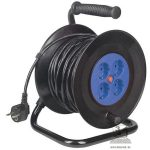 Home HJR 4-50 kábeldob 4 aljzat 3x1,5mm2 50m kábellel