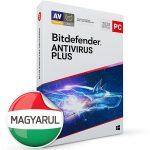 Bitdefender Antivirus Plus HUN  3 Eszköz 1 év dobozos vírusirtó szoftver