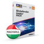 Bitdefender Family Pack HUN 15 Eszköz 1 év dobozos vírusirtó szoftver