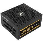 ABKONCORE TENERGY 850W 80+ gold 12cm ventilátorral moduláris dobozos tápegység