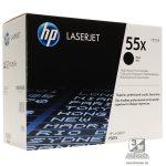 HP CE255X (55X) fekete nagykapacitású toner