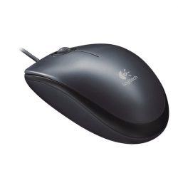 Logitech M90 USB fekete egér